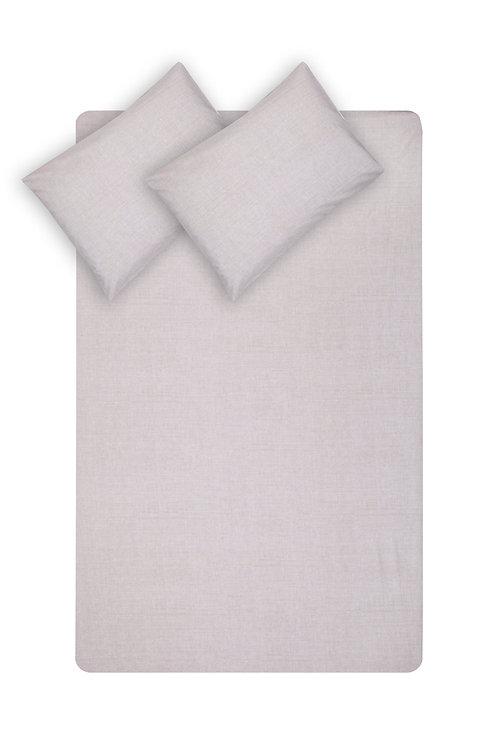 Home de Bleu Single Size Sheet Set - gri