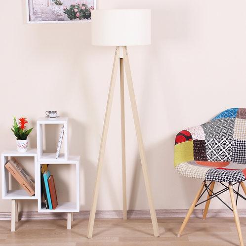 Kate Louise Floor Lamp-Celina  -  Beige / Natural