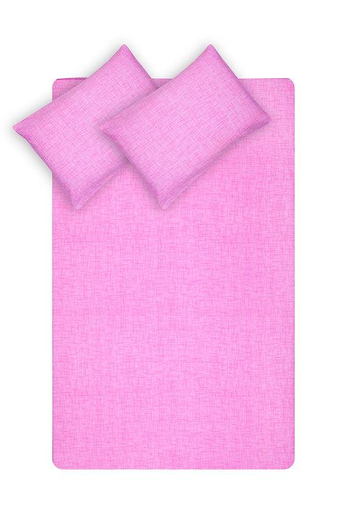 Home de Bleu Single Size Sheet Set - pembe