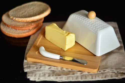 Bambum Una - 3 pcs butter Plate