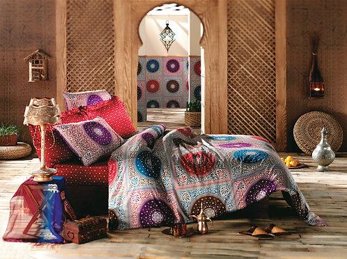 Sarev Satin Duvet Cover Set 135x200 Cm - Arabesque
