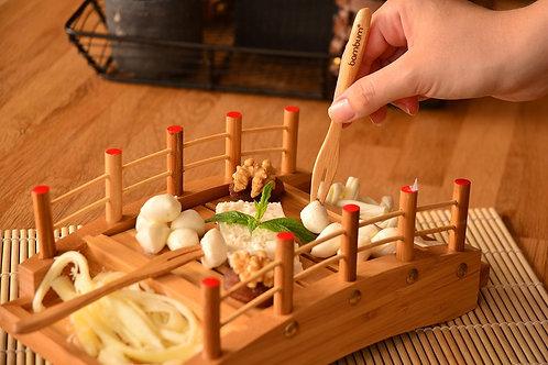 Bambum Salsa Mini Snack Fork - (B2575)