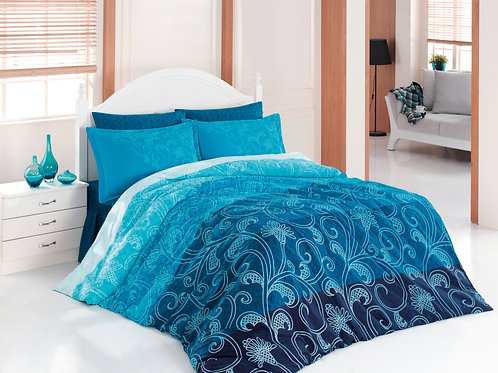 Cotton Duvet Sets-Ebruli V1