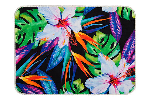 Digital Printed Mat 50x70 Cm - Exotic Palm