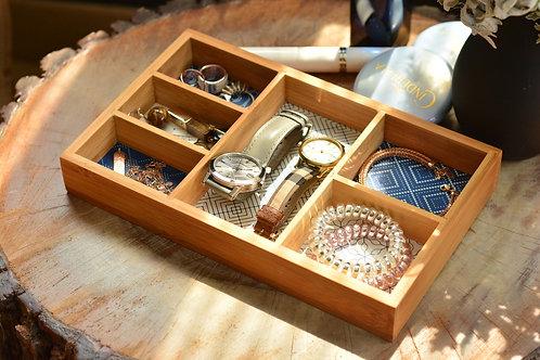 Boxy - 6 Compartment Jewelery Box
