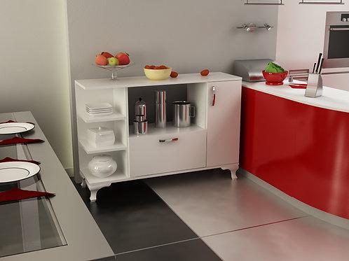Arenı Storage Cabinet Whıte