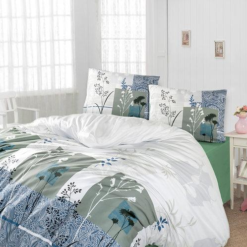 Home de Bleu Ranforce Duvet Cover Set 240x220 Cm