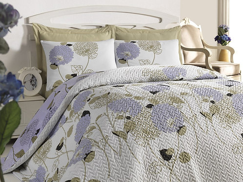 Four Seasons Capitone Quilt Set 180x230 Cm (Tr)