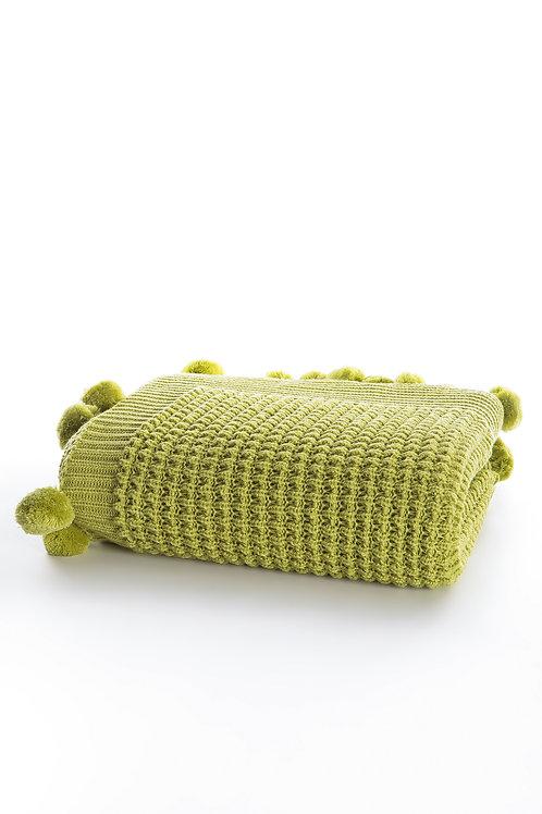 Tricot Blanket - 130x170 Cm-Dream Pistachio Green