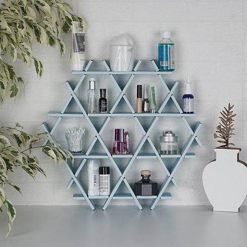 Dekorjinal Solid Wooden Wall Shelf