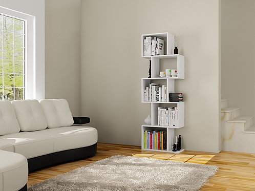 Bestline Meriç Bookcase - White