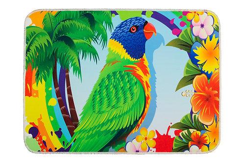 Digital Printed Mat 50x70 Cm - Rainbow Lorikeet Pa
