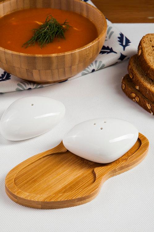 Bambum Ston Salt&Pepper Shaker