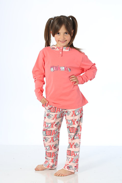 Yuppi Girls Kid Pajamas Set