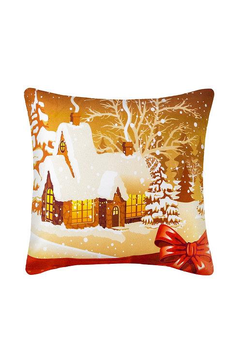 Pillowcase 45x45 Cm - Christmas v33/ 2 Pcs