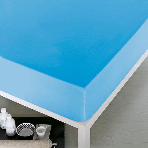 Home De Bleu Rnfrc Fitted Sheet 140x200 - Turquois