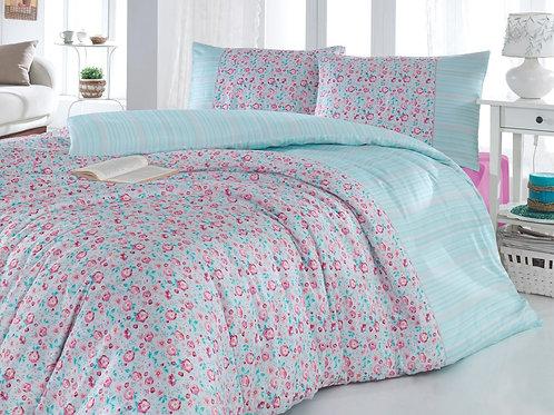 Perfect Flower Ranforce Duvet Cover Set 135X200 Cm
