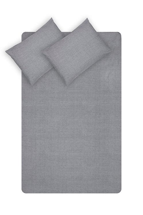 Home de Bleu Single Size Sheet Set - fume