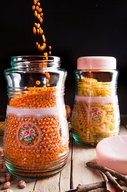 Lotus 2 Pcs. Jar Set
