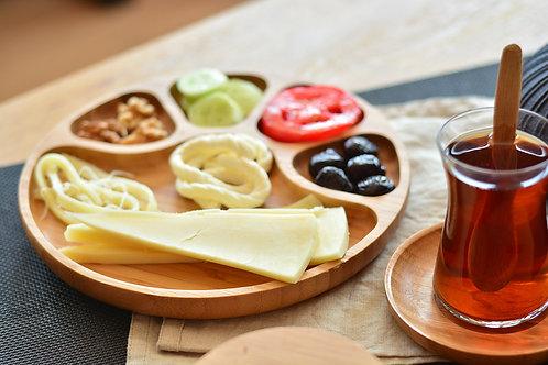 Bambum Tortil Service Plate