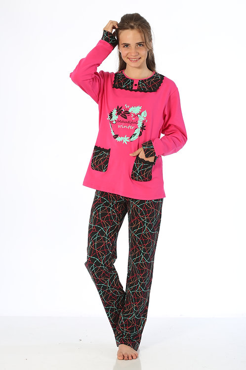 Yuppi Girls Teen Pajamas Set