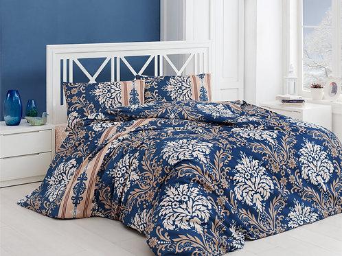 Clasy Cotton Duvet Sets - Royal V14