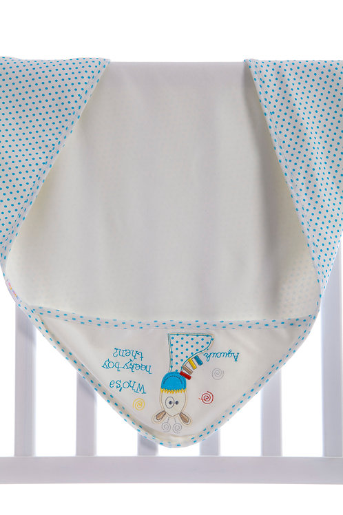 Agucuk Baby Graffe Embroidered Blanket 1203