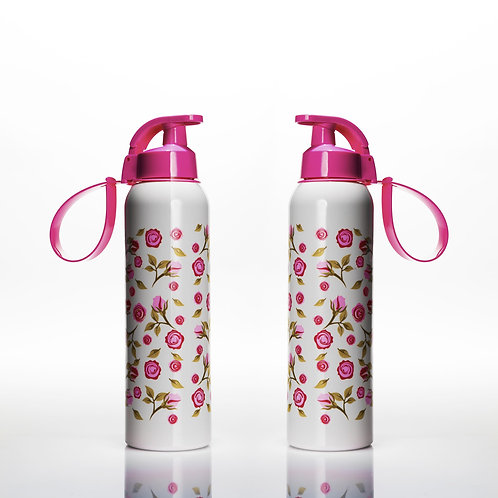 2 Pcs Water FlaskRose
