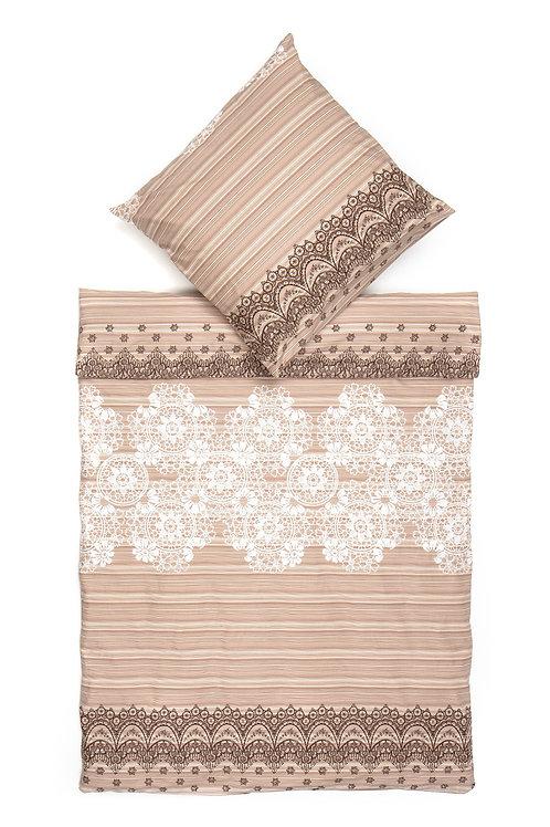 Homedebleu Ranforce Duvet Cover Set 135X200 Cm -