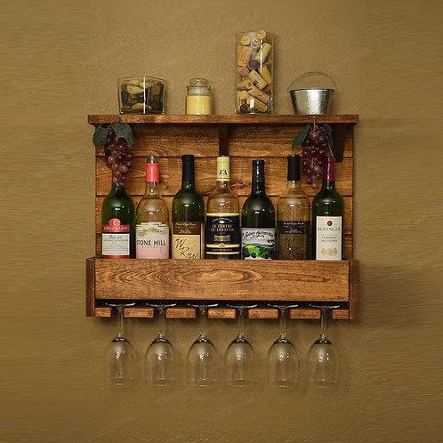 Dekorjinal Massive Wooden Drink Stand