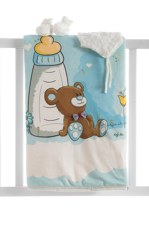 Baby Line Blanket Set 9720
