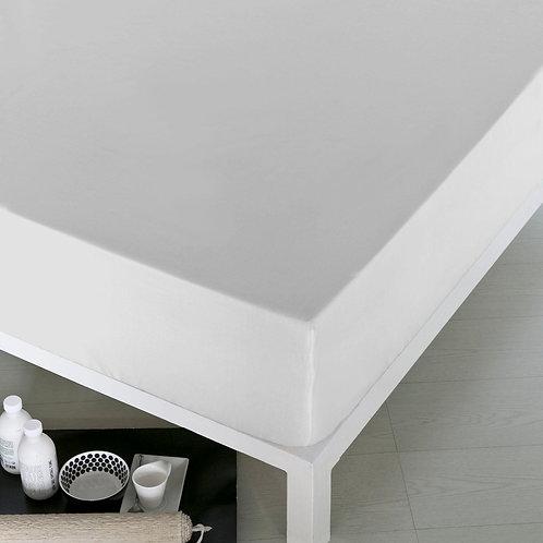 Home De Bleu Rnfrc Fitted Sheet 100x200 - White