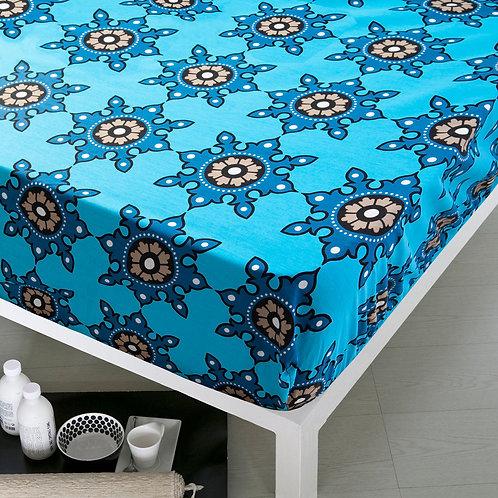 Home De Bleu Rnfrc Fitted Sheet 100x200 -Kilim T