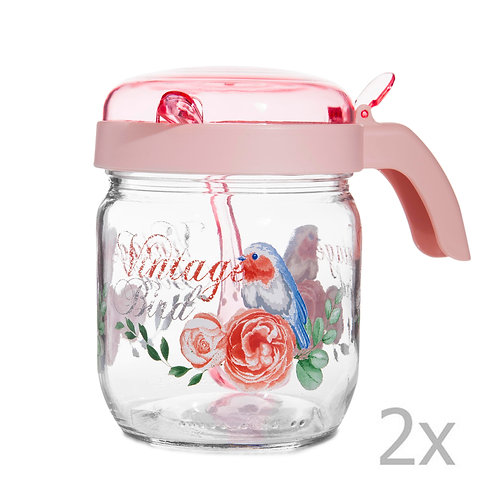 2 Pcs. Spice Jar with Spoon