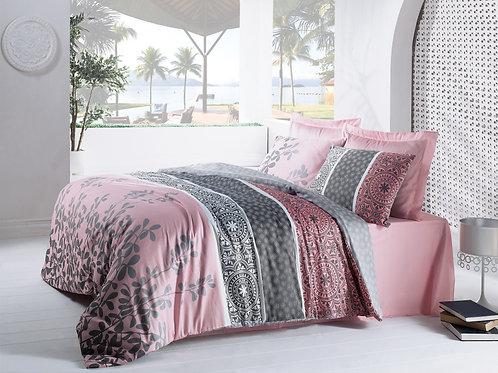 Clasy Cotton Duvet Sets - Mahidevran Pink