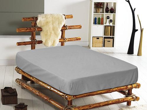 Cotton Duvet Sets-Grey
