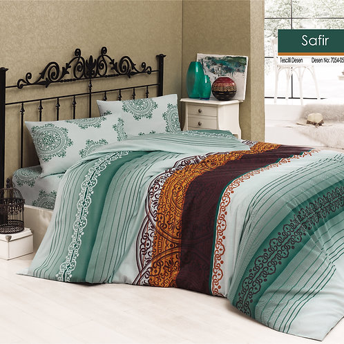 Clasy Cotton Duvet Sets - Safir - V05