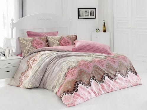Clasy Cotton Duvet Sets - Lida Beige