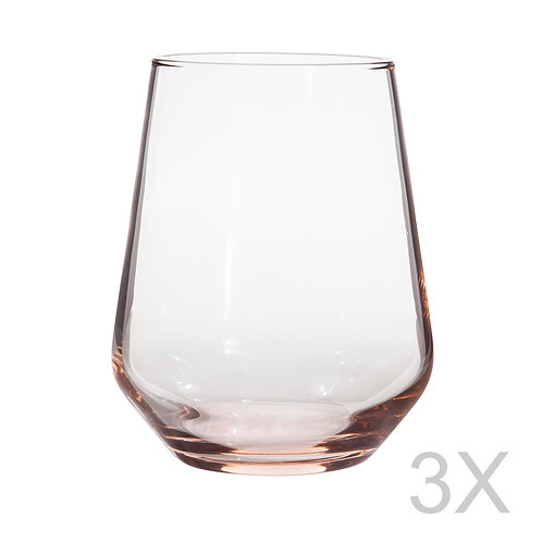 Allegra 3 Pcs. Water Glass Set