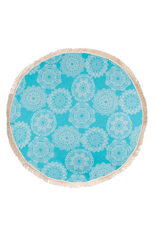 Round  Towel Lace
