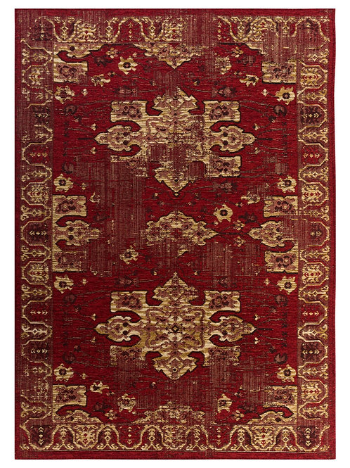 3K Carpet Back to Home Avangard 36054A Red/Gold (1