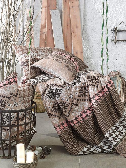 Cotton Duvet Sets-Etnik V1