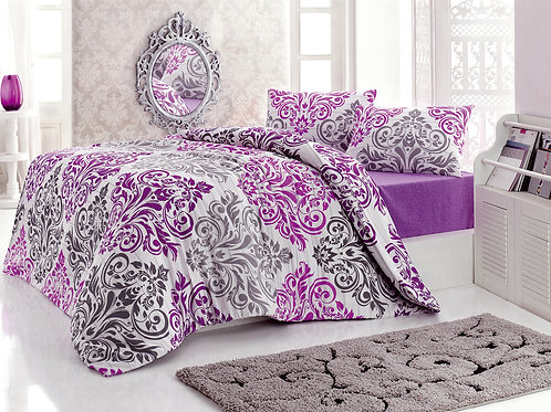 Magenta Home Duvet Cover Set 240x220 Cm