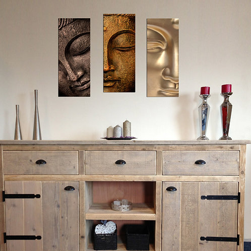 Dekorjinal 3 Pcs. Decorative Mdf Painting Bme015