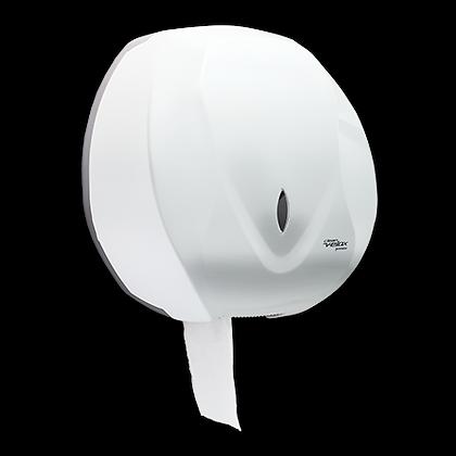 Dispenser Papel Higiênico Rolão (300 ou 500 m) Clean Velox Branco