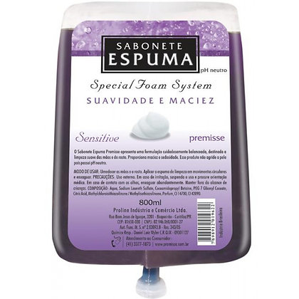 Sabonete Espuma Sensitive 700 ml