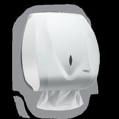 Dispenser Papel Toalha Interfolhas (2 ou 3 dobras) Clean Velox Branco