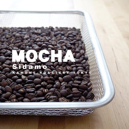 モカコーヒー豆の写真