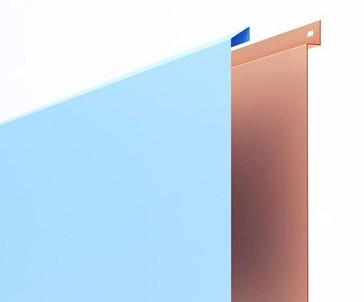 Панели из листового металла окрашенные порошковой краской