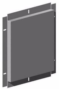 Панель из листового металла с крепежными отверстиями